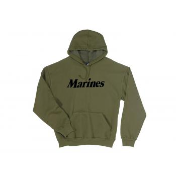 Marines Pullover Hooded Sweatshirt