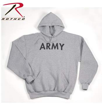 Army PT Pullover Hooded Sweatshirt