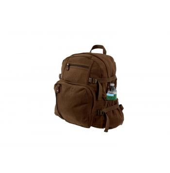Jumbo Vintage Style Canvas Backpack