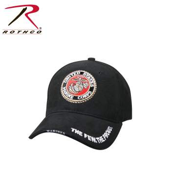 Deluxe Low Profile Cap With USMC Eagle, Globe & Anchor Logo
