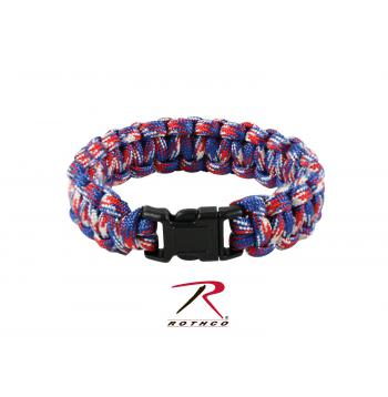 Multi-Colored Paracord Bracelet