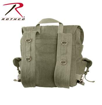Compact Weekender Backpack With Cross