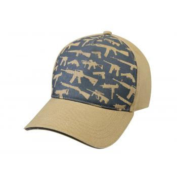 Deluxe Khaki Guns Low Profile Cap