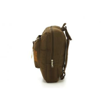 Vintage Style Canvas Flight Bag