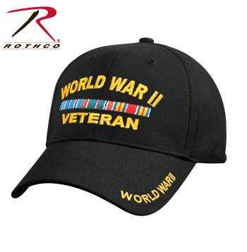 WWII Veteran Deluxe Low Profile Cap