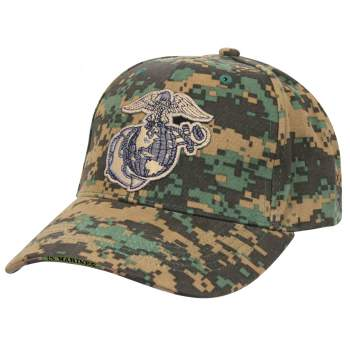 Deluxe Eagle, Globe & Anchor Low Profile Cap