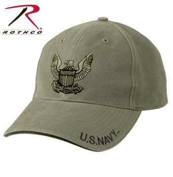 Vintage Style U.S. Navy Eagle Low Profile Cap