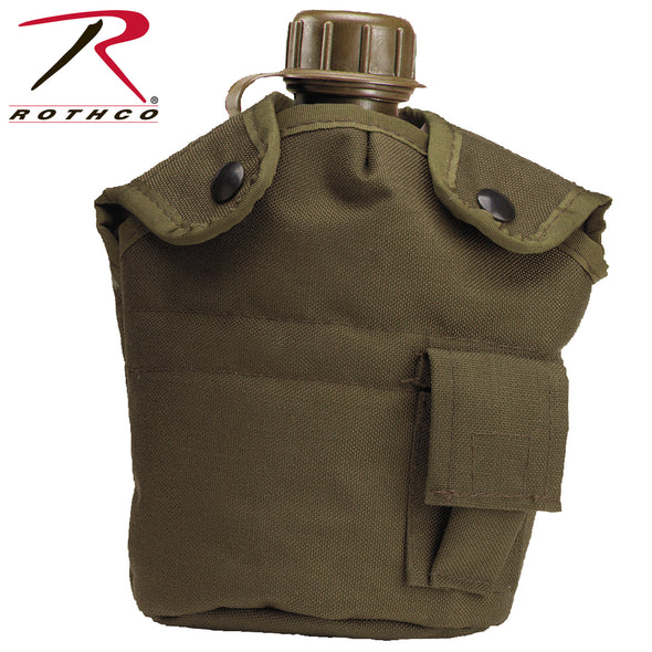 Canteen Cover-G.I. Type Enhanced Nylon 1qt-Rothco