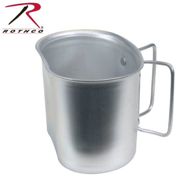 Aluminum Canteen Cup-GI Style -Rothco