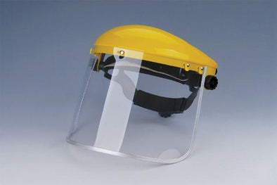 PC FACE SHIELD (WITH HELMET), case of 40pcs