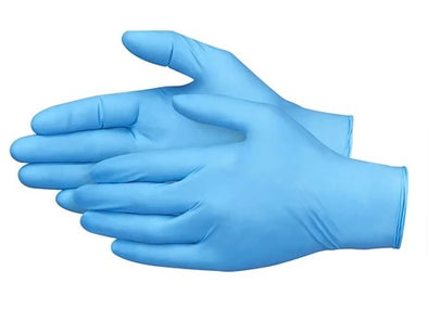 NITRILE INDUSTRIAL GLOVES, BULK Case 1000pc