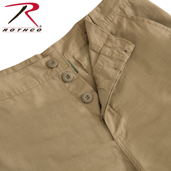 BDU (Battle Dress Uniform) Cargo Pants - Rip-Stop