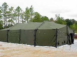MODULAR GENERAL PURPOSE TENT SYSTEM (18' X 54') LARGE