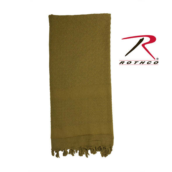 Shemagh Tactical Desert Scarf - Solid Color
