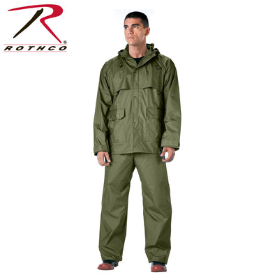 2 Piece Microlite PVC Rainsuit