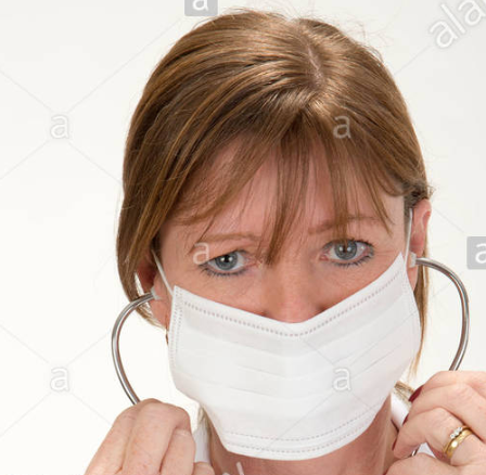 Surgical Face Masks: Disposable non woven medical mask (Bulk = $1.50/each)