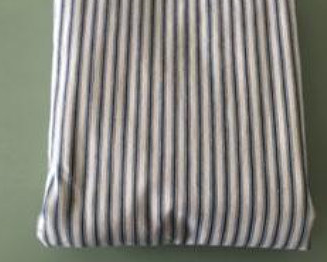 Vintage Mattress Cover - Striped -