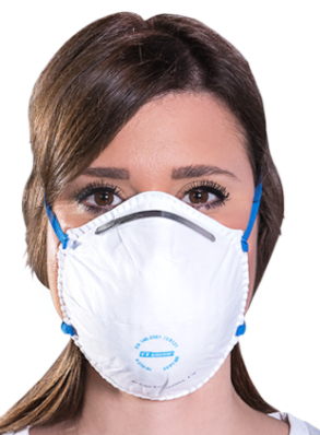 QSA FFP1 Face Mask Respirator ($8.95 & up) (Price Transparency Below)