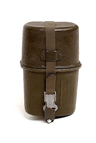 Military 2 Piece Canteen - Vintage - W.German
