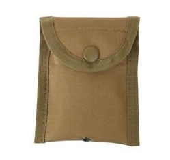 Military M.O.L.L.E Zippered Pouch -USA-Coyote