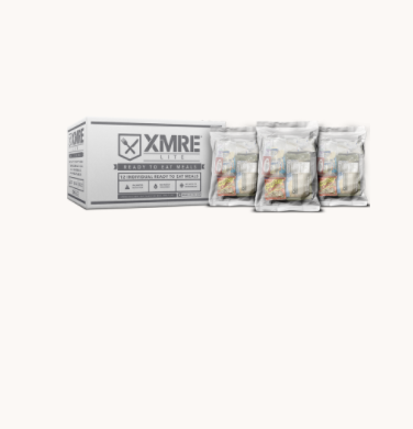 XMRE LITE - Meals Ready to Eat - Case of 12 - Made in the USA - FRH Included