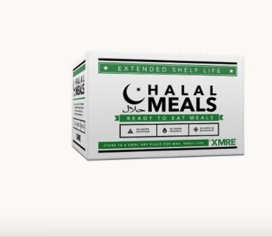 XMRE Halal 1000 - Meals Ready to Eat - Case of 12 - Made in the USA - FRH Included