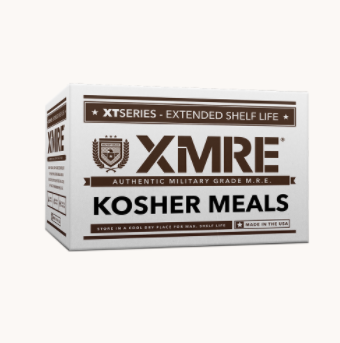 XMRE Kosher - Meals Ready to Eat - Case of 12 - Made in the USA - FRH included