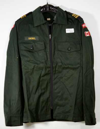 Canadian Army Cadet Work Jacket