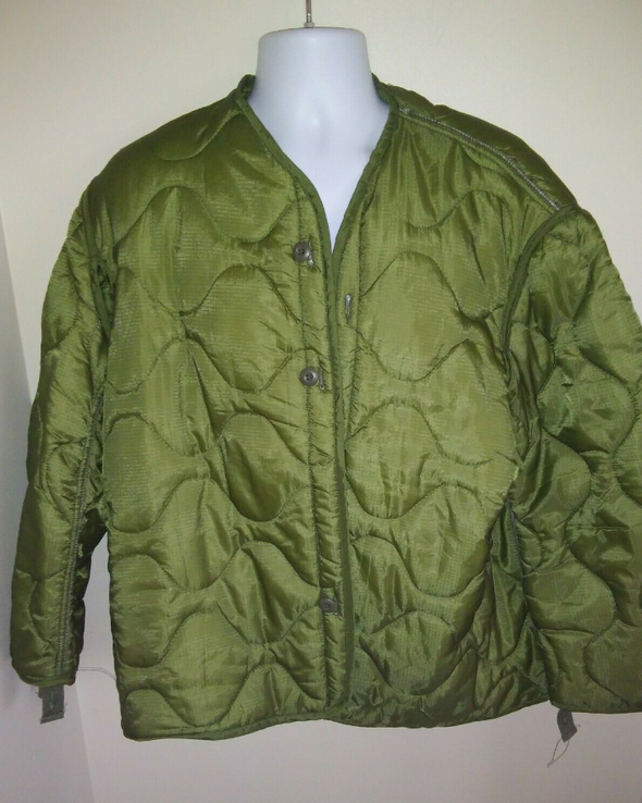 Vintage US M65 Quilted Field Jacket Liner