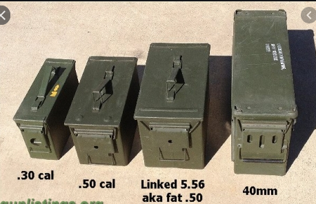 Army 30 Cal Ammo Can - USA