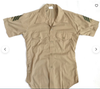Assorted Military Officer Short Sleeve Dress Shirts - Vintage