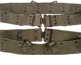 Assorted Military Surplus Web/Pistol Belts - Vintage