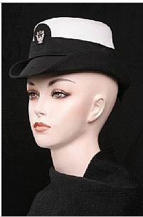 Grab Bags of Assorted Mixed Military Officer Hats - New and Vintage