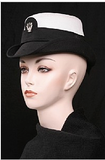 Assorted Mixed Military Officer Hats - New and Vintage
