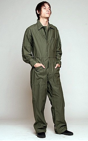 Grab Bag of Assorted Military Surplus Flightsuits/Coveralls - Vintage