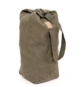Assorted Military Surplus Duffle Bags - Vintage