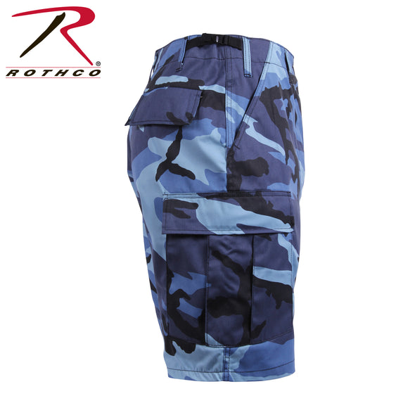 Military Style Crazy Colored Camo BDU/Cargo Shorts