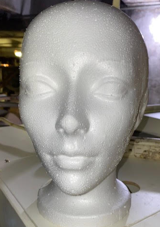 Female Mannequin Heads - New - Great for Online/Retail Display