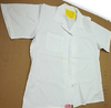 Military White Button Down Medical Smock /Food Service