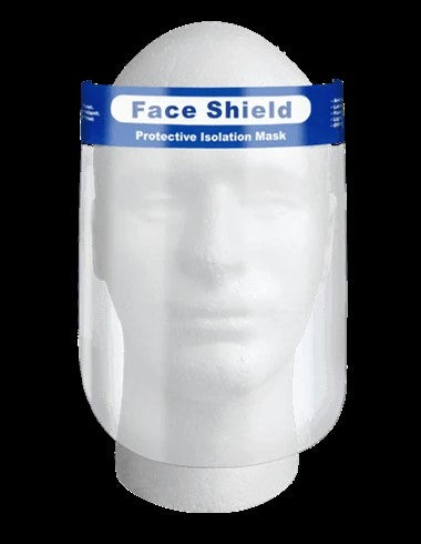 FACE SHIELD (PET) 1000 CASE PACK