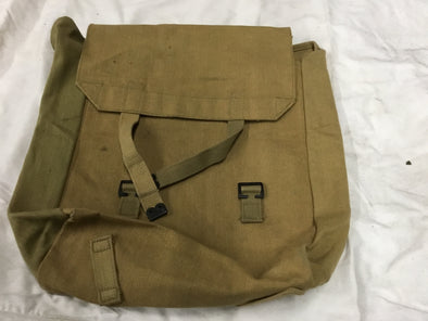 WWII British Canvas Haversack