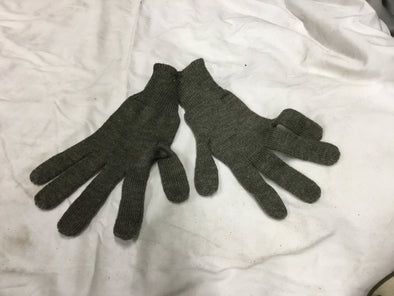 WWII GERMAN STYLE WOOL GLOVES ENLISTED ISSUE