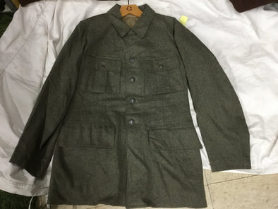WWII GERMAN STYLE WOOL M36 TUNIC, SIZES VARY 1940 DATED