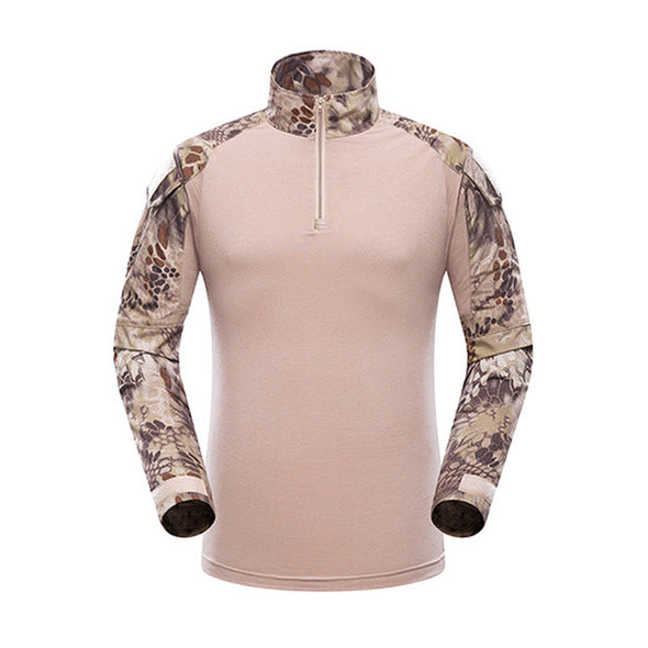 Mege Military Shirt Camouflage Army Tactical Battle Combat Shirt Men Women USMC Softair Camisa Militar Special Forces Costume