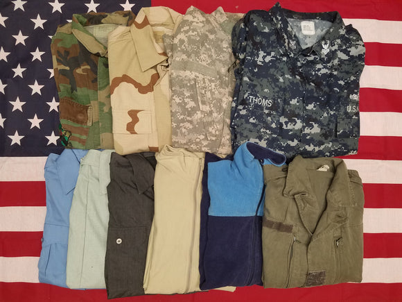 Asst Work Shirts <br>(1 LOT = 100 PCS.)