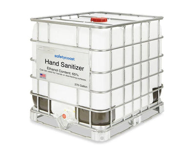 275 GALLON TOTE OF LIQUID HAND SANITIZER