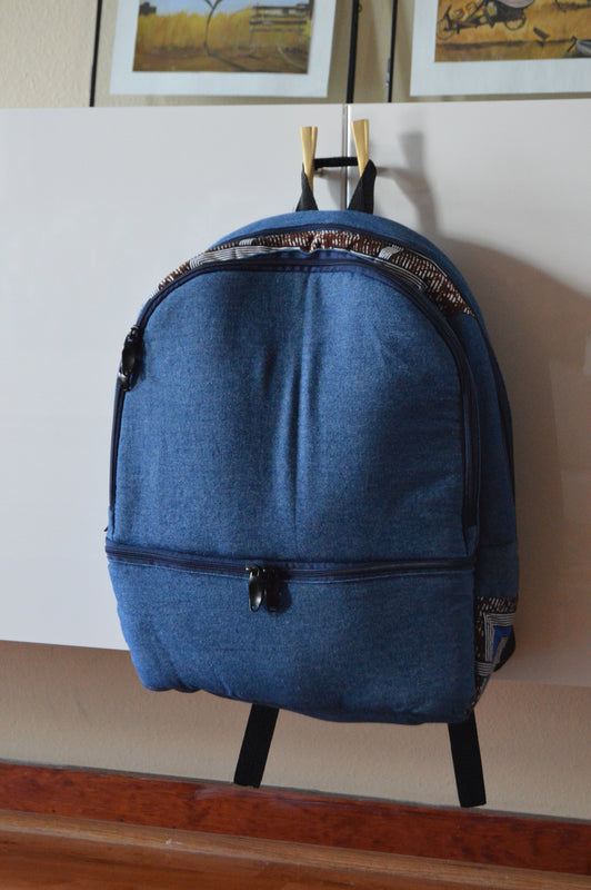 Dayo Denim Backpack
