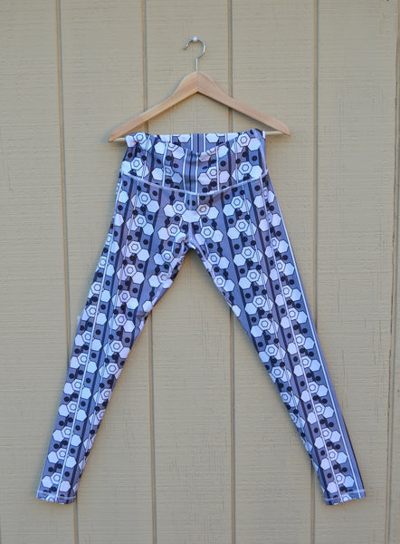 Sade Printed Ankara Leggings