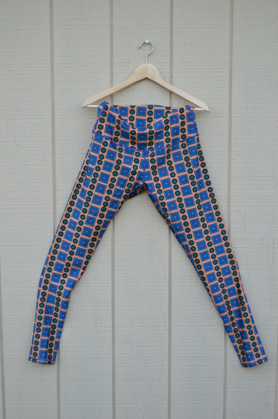 Òkun Printed Ankara Leggings