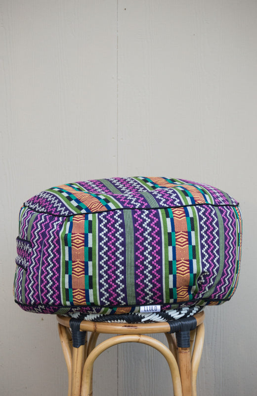 Dompreh Kente Floor Pouf